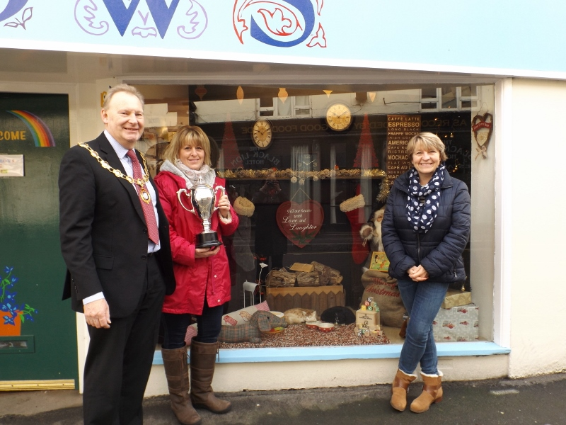 Ellesmere Council Christmas Window Competition