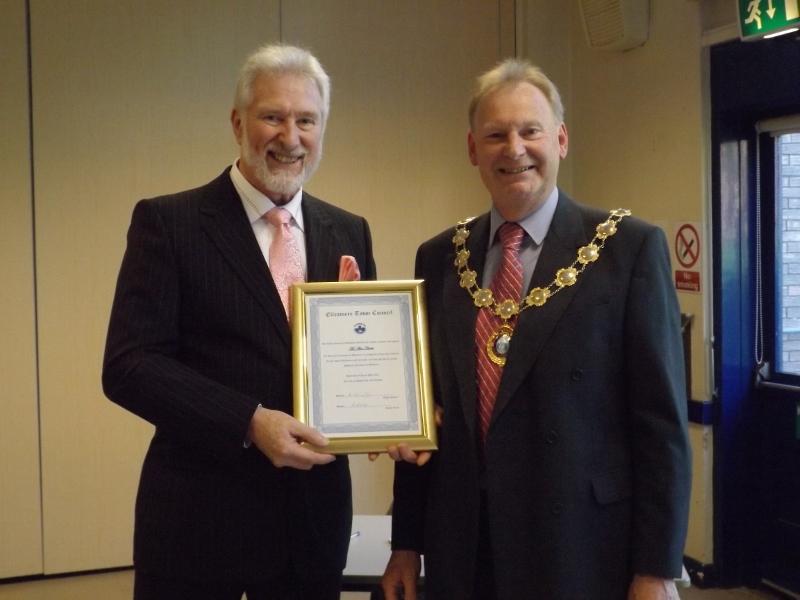 Honorary Freeman Alan Clarke