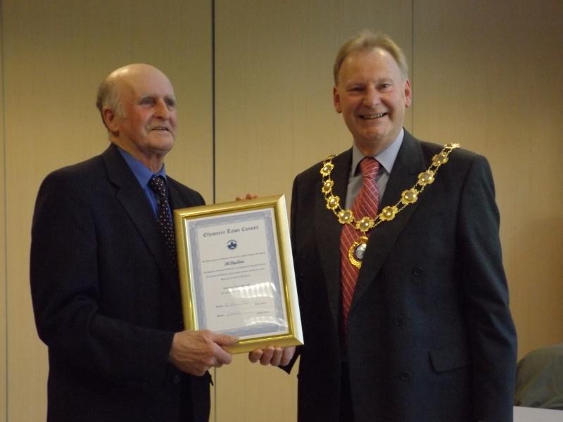 Honorary Freeman Terry Davies